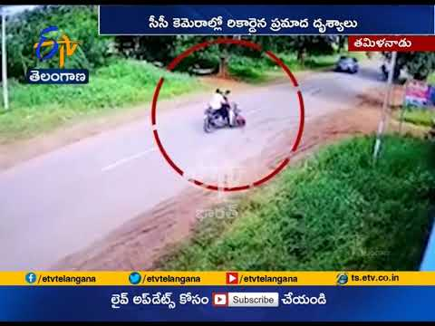Bike Hit Another Bike | at Dharmapuri in Tamil Nadu