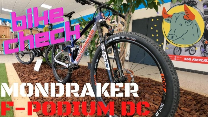 MONDRAKER F-PODIUM CARBON DC 2021 le BIKE CHECK !