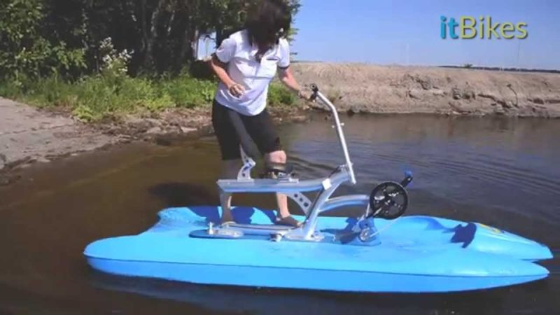 itBikes Water Bikes  – Launching your Water Bike