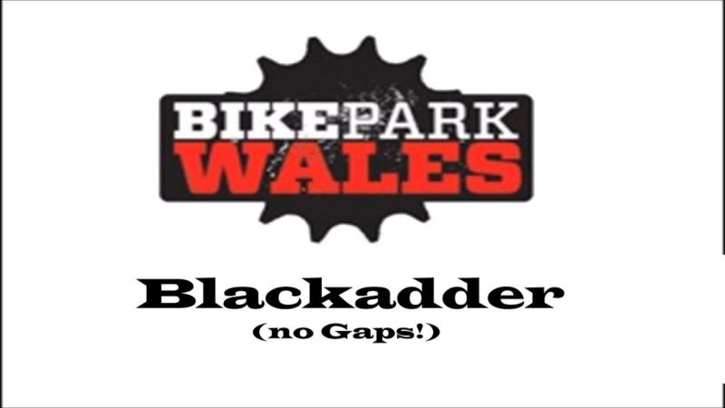 Bike Park Wales Blackadder  – Black 2019 BPW (no Gaps!)