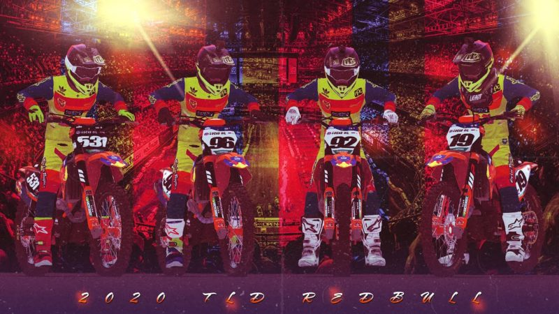Mx Bikes – 2020 TLD RedBull Team Intro