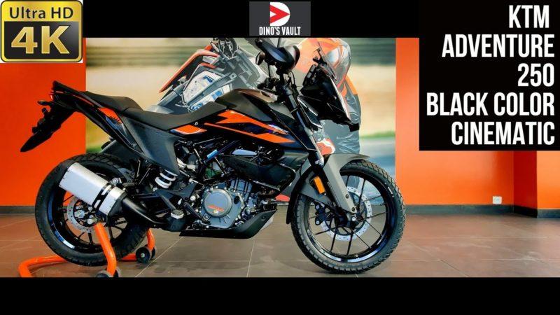 KTM Adventure 250 Stunning Black Color 4K 60fps Cinematic Walkaround #Bikes@Dinos