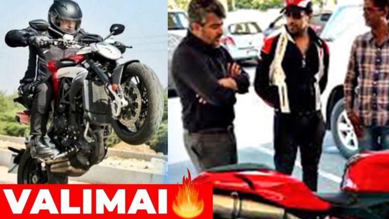 😍Thala Ajith Mass Valimai Bike Stunt | Thala 60 | H.Vinoth , Tamil Cinema News, Valimai Trailer