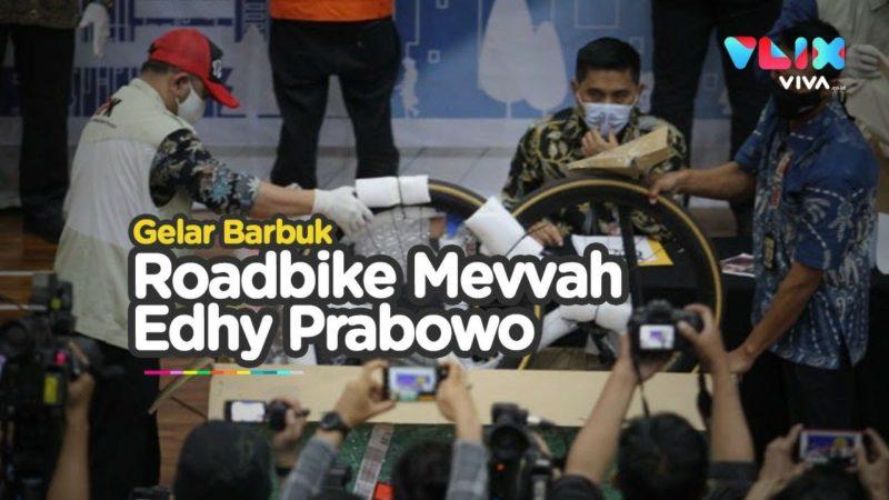 Barbuk Suap Edhy Prabowo, Road Bike Premium Sampai Tas Mewah