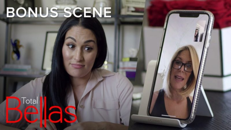 Nikki Invites Mom Kathy to Bike With Artem Without Telling Him | Total Bellas Bonus Scene | E!