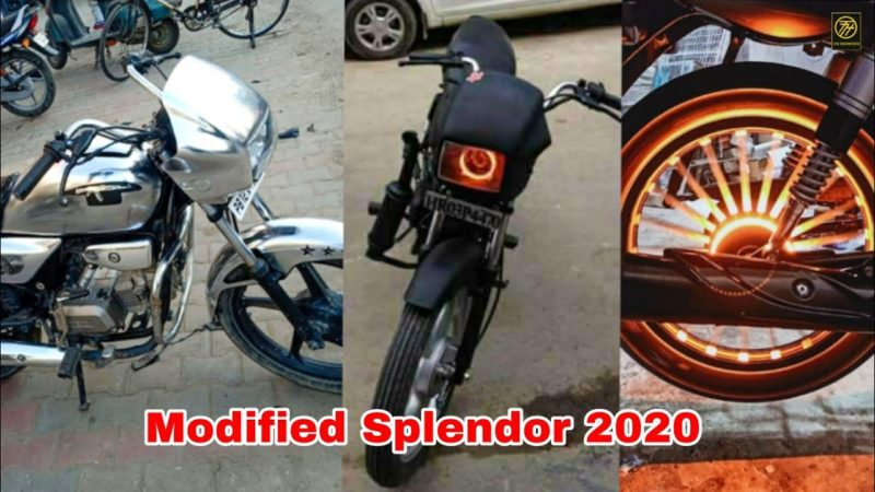 Modified top Best Hero spendor bike |hero splendor modify