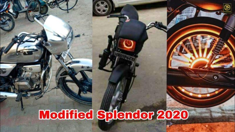 Modified top Best Hero spendor bike |hero splendor modify