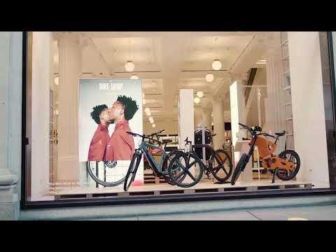The Bike Shop by Smartech at The Selfridges Corner Shop