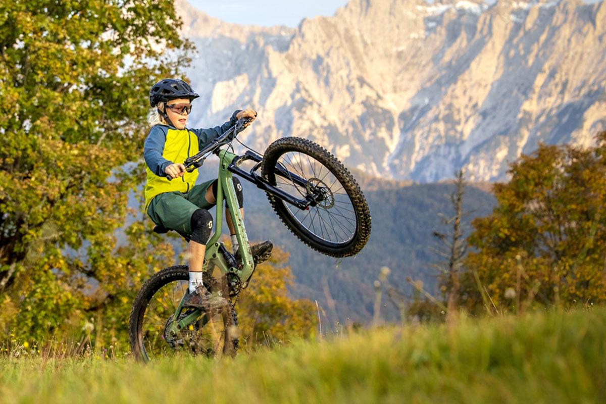 """Scott Ransom 24 """"og 26"""" fuldt affjedrede børnestemte mountainbikes kan føre til en Future Pro"""