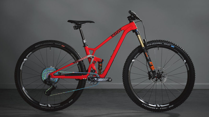 Spot Ryve 29er marathon XC mountain bike adds XS size, keeps the big wheels