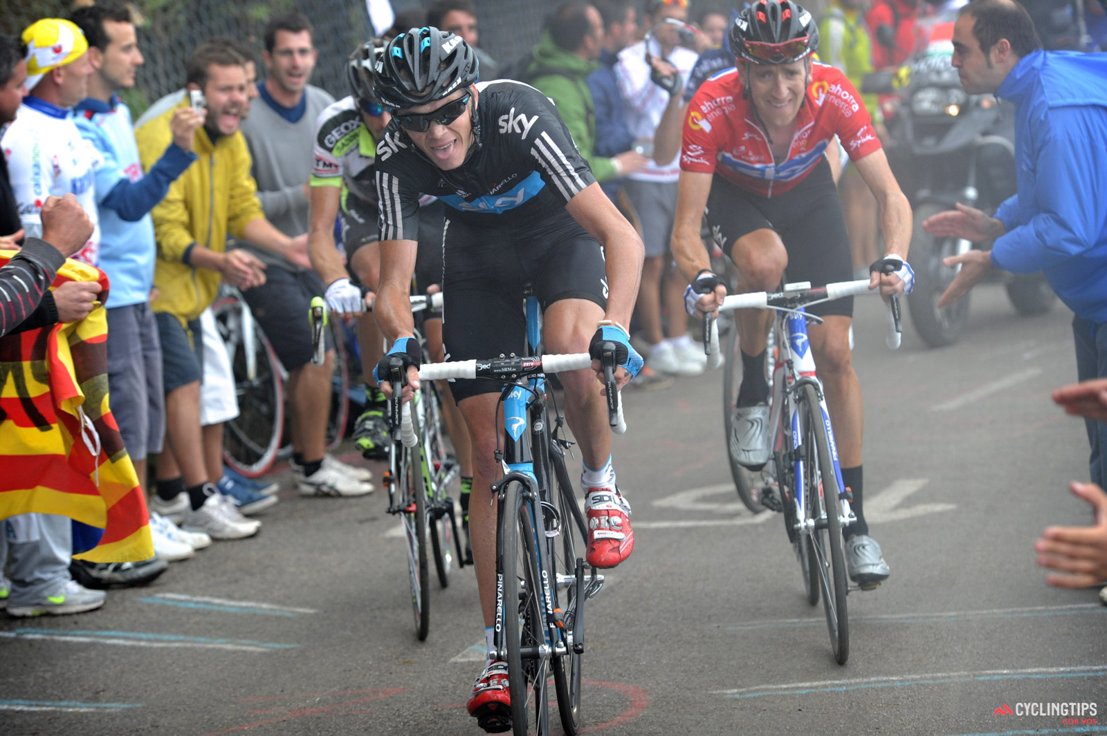 Nine years late, Chris Froome gets his Vuelta trophy