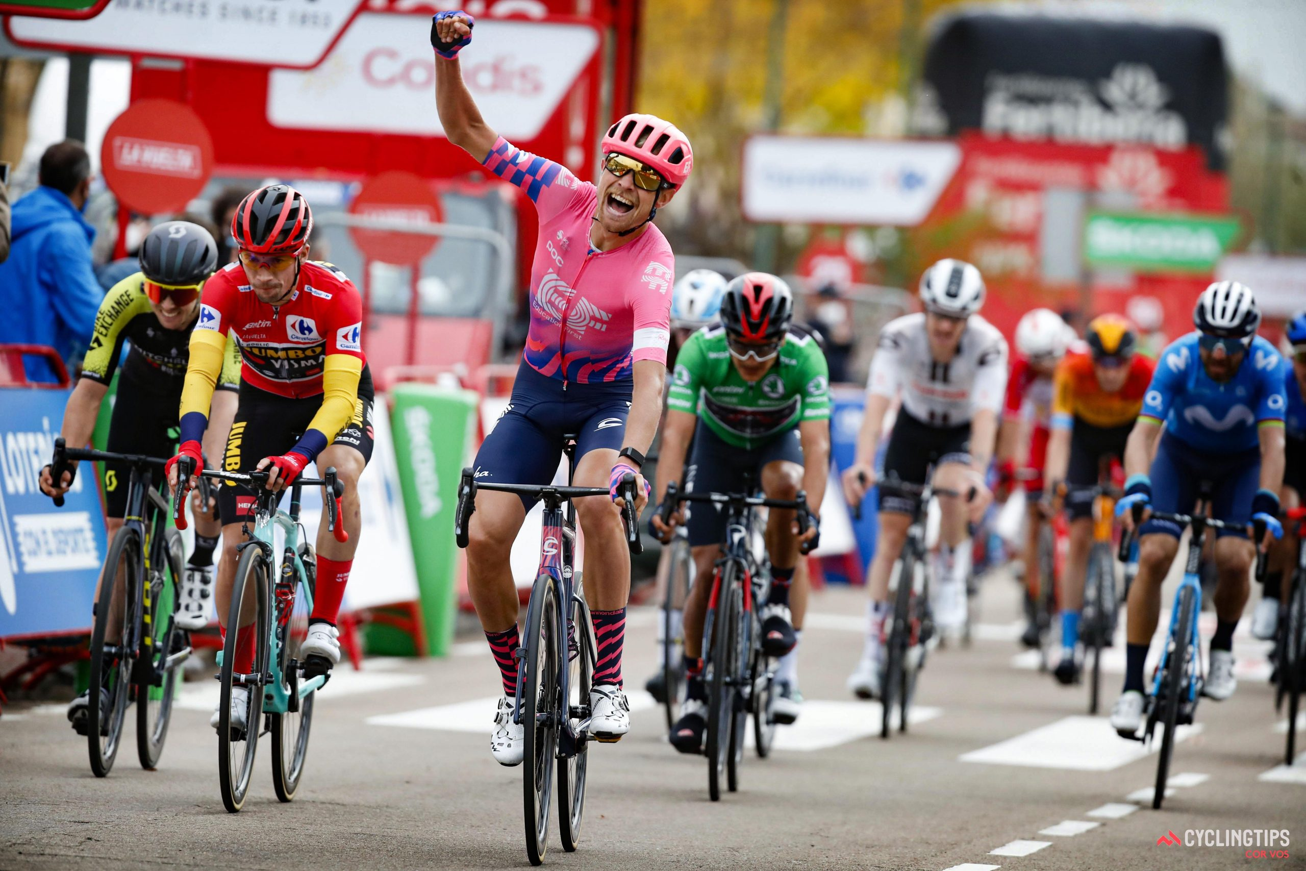 Magnus Cort wins stage 16 of La Vuelta: Daily News Digest