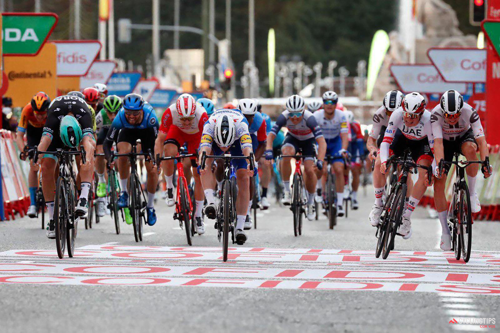 Pascal Ackermann wins final stage of La Vuelta: Daily News Digest