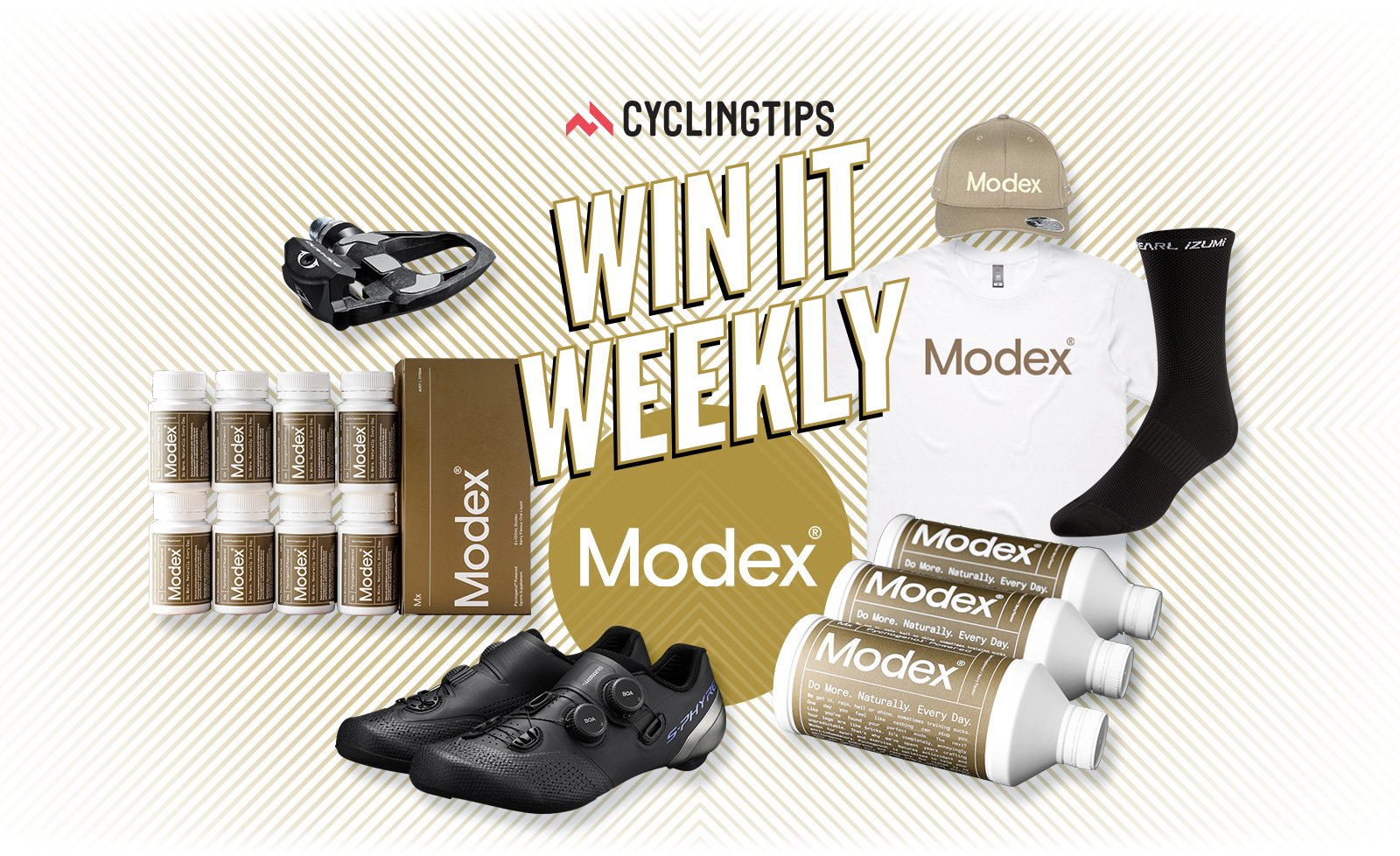 Win it Weekly: Presented by Modex