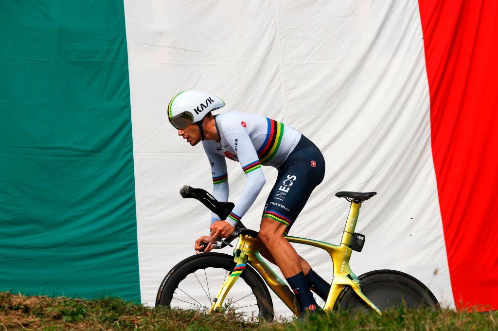 Filippo Ganna setzt TT-Dominanz fort, Giro d'Italia Präsentation Mittwoch – VeloNews.com
