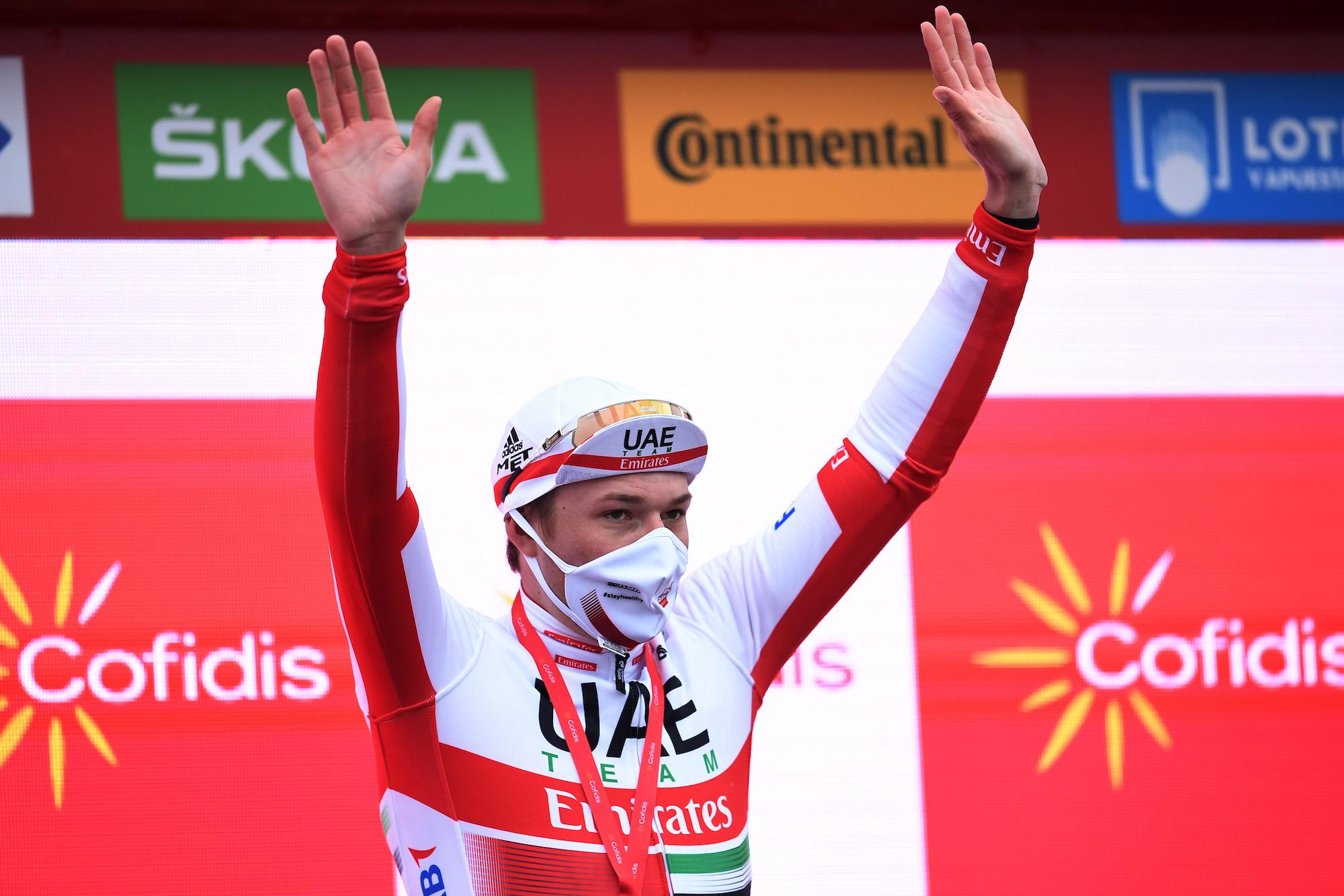 Fem talepunkter fra etape 15 i Vuelta a España 2020