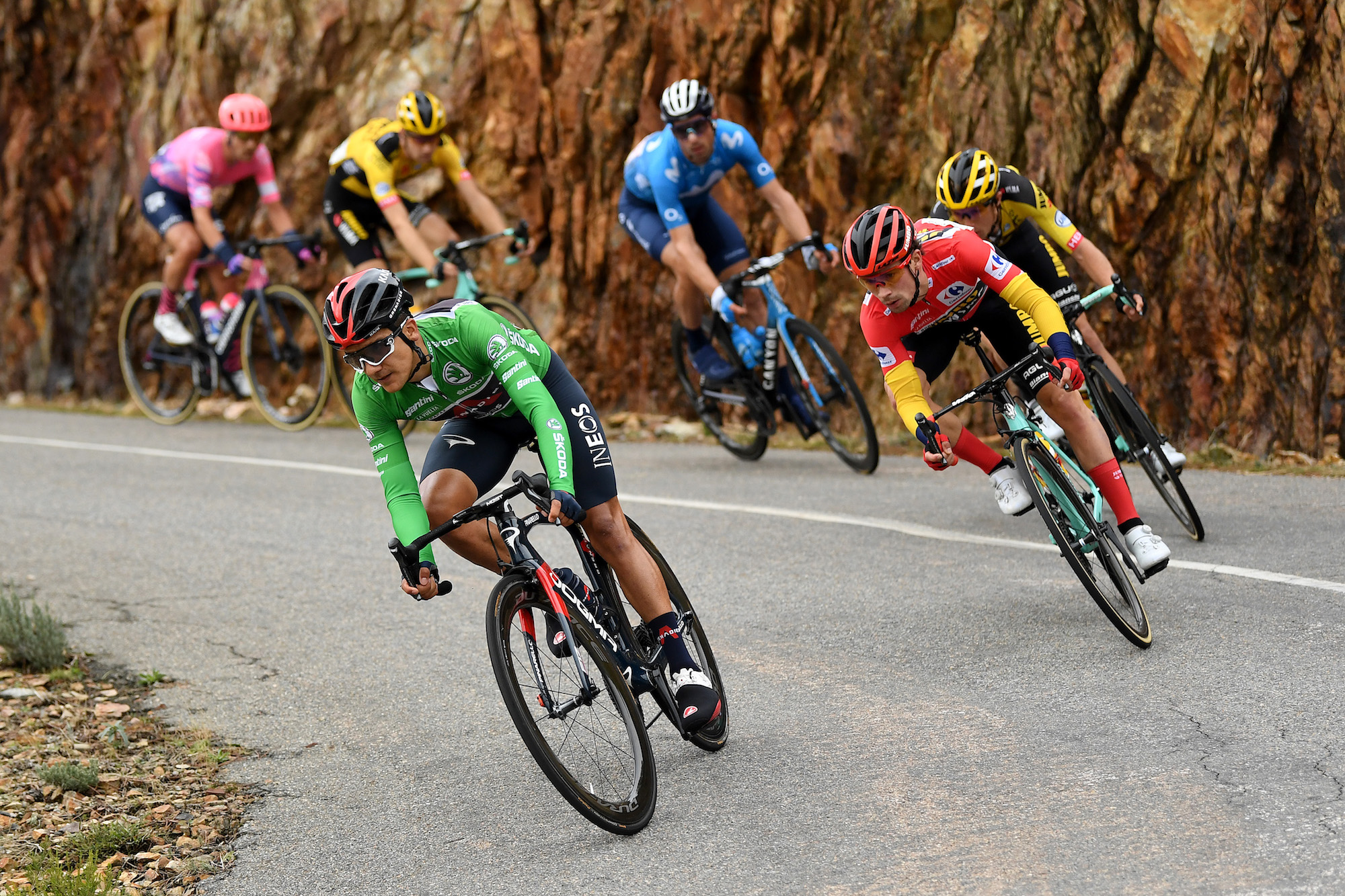 Cinque punti di discussione dalla tappa 16 della Vuelta a España 2020