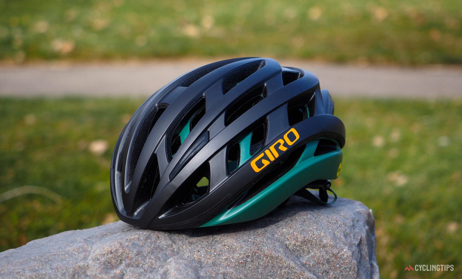 Le nouveau casque sphérique Giro Helios promet la technologie de sécurité Aether à un prix inférieur