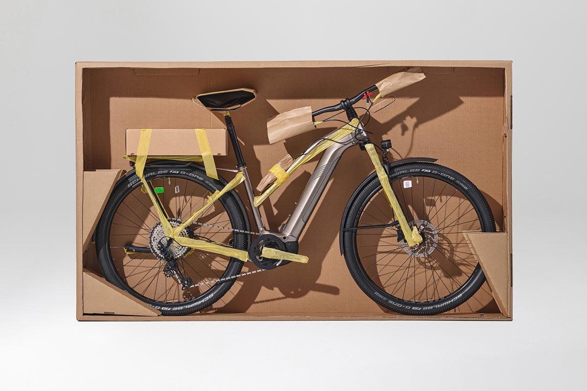 Cannondale schakelt over op plasticvrije, volledig recyclebare verpakkingen voor fietsen