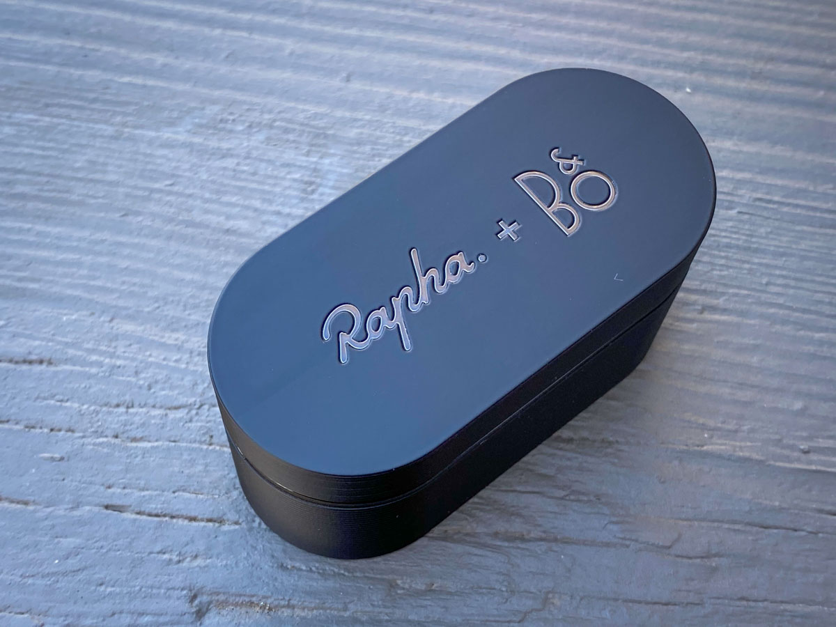 Rapha + Bang & Olufsen Limited Edition Beoplay E8 Sport earphones are built for training