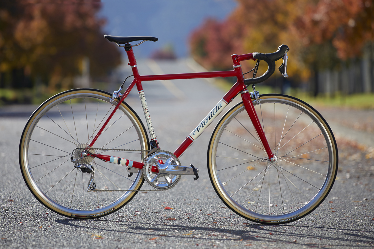 De Vanilla Classic custom racefiets is een nieuwe kijk op Vanilla met slechts 11 fietsen per smaak