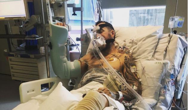 Ciclista perdona a conductor ebrio sin seguro que lo puso en cuidados intensivos