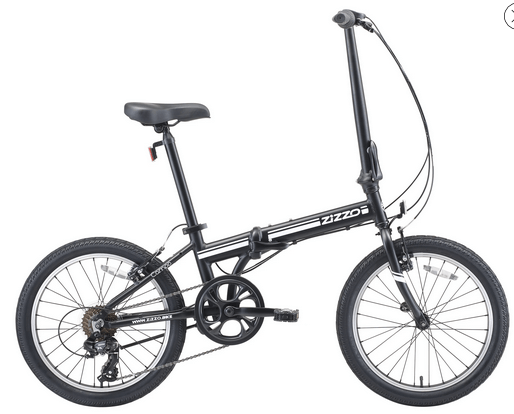 Euromini zizzo folding bike 7-Speed Folding Bike 20-Inch Review