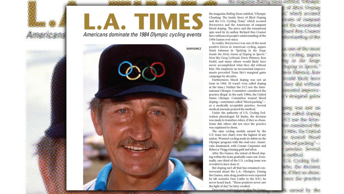 Eddie B et les Américains aux Jeux Olympiques de LA 1984 – VeloNews.com