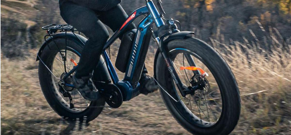 Biktrix Juggernaut HD Duo ebike claimt een bereik van 150 km, gaat 35 MPH