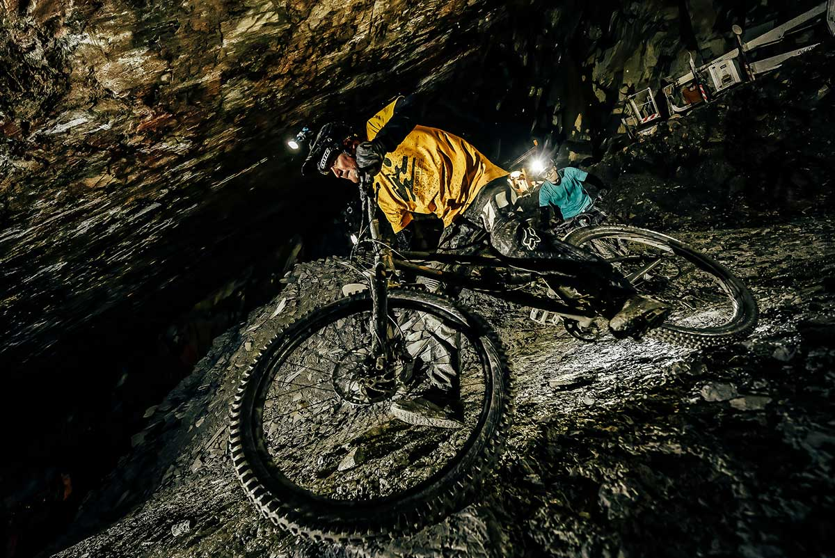 The all-new Cotic Jeht 140mm 29er steel full suspension trail bike shreds caves & trails
