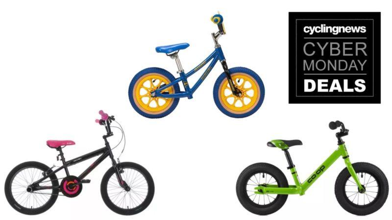 Otte Cyber Monday-cykeltilbud til børn, der kom lige i tide til jul