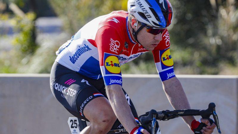 Fabio Jakobsen ist wieder auf seinem Fahrrad