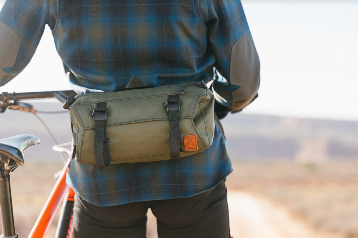 Kitsbow x Swift Industries collaboration yields hip pack w/ matching technical flannel shirt