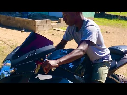 Arrow Boss 16 Year Old Jamaican Biker