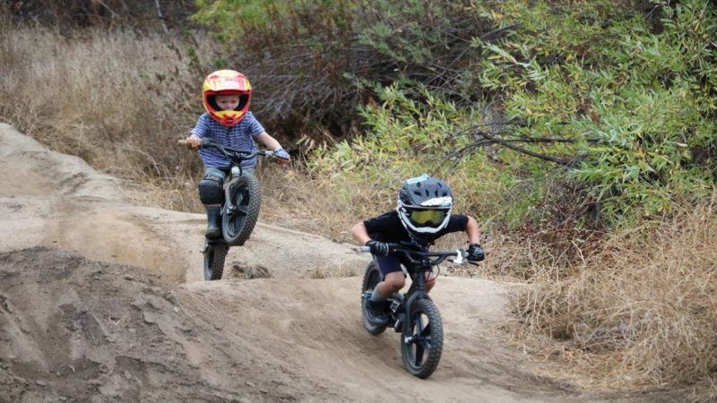 Mini Rippers Shred On STACYC Bikes