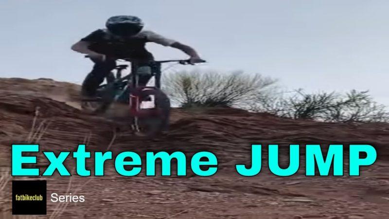 Mountain Biking Extreme Jump 47