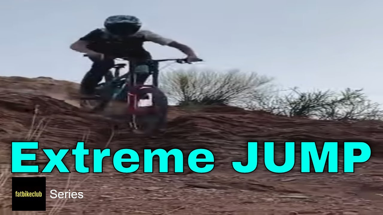 Mountain Biking Extreme Jump 47