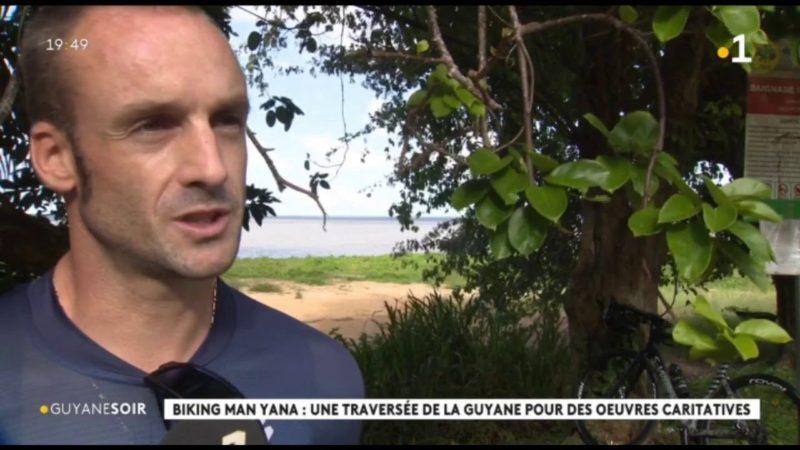 Biking man yana : une traversée de la Guyane pour des oeuvres caritatives