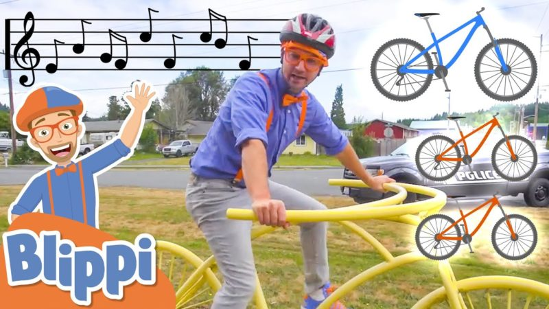 Blippi BIKE Song | Educational Songs For Kids