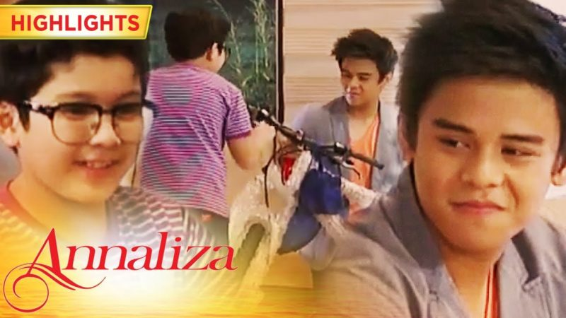 Jeric gives Glenn a brand-new bike | Annaliza