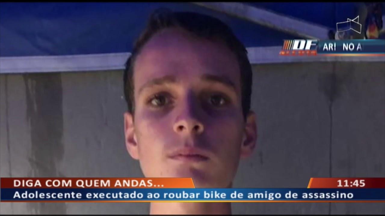 DF ALERTA – Adolescente executado ao roubar bike de amigo de assassino