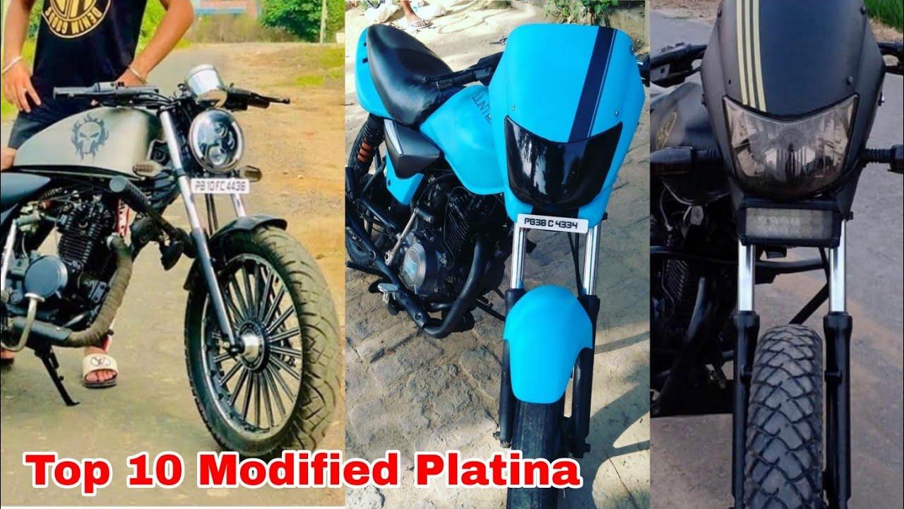 Top 10 Modified Platina Bike |New Bajaj Platina Modify Video |Fh modified