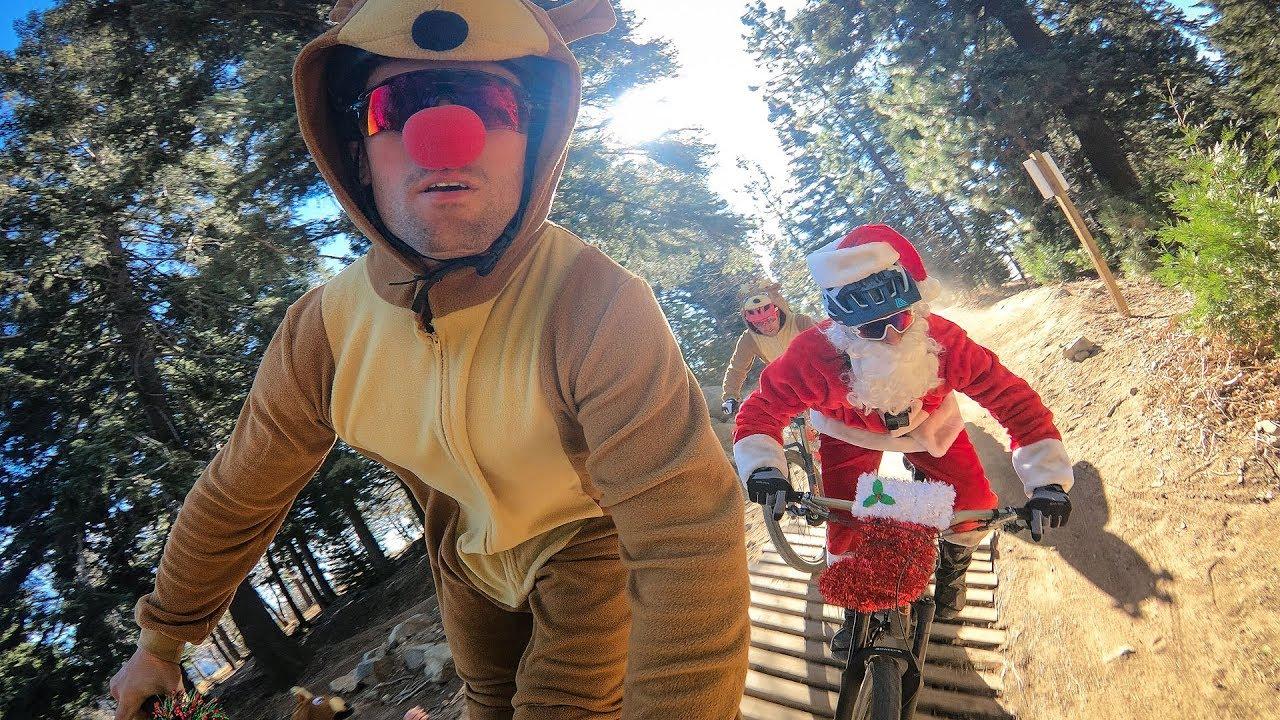 GoPro: 'Tis The Season To Be Shredding Bikes with Santa