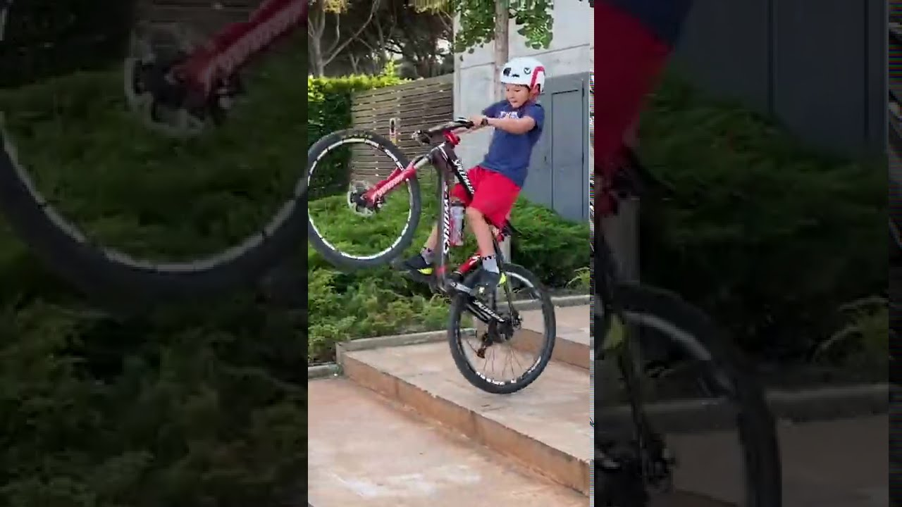 😮 TALENTED Kid on Bike! 🤘