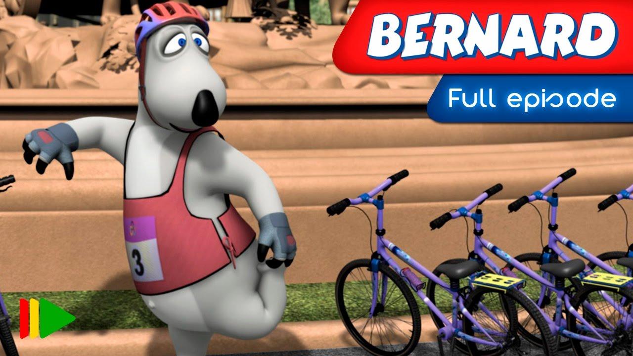 Bernard Bear – 155 – Cycling