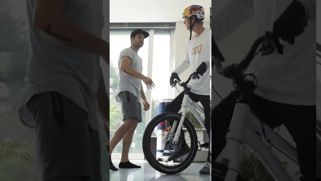 😍 Darts with Bike Wheel! ⚡