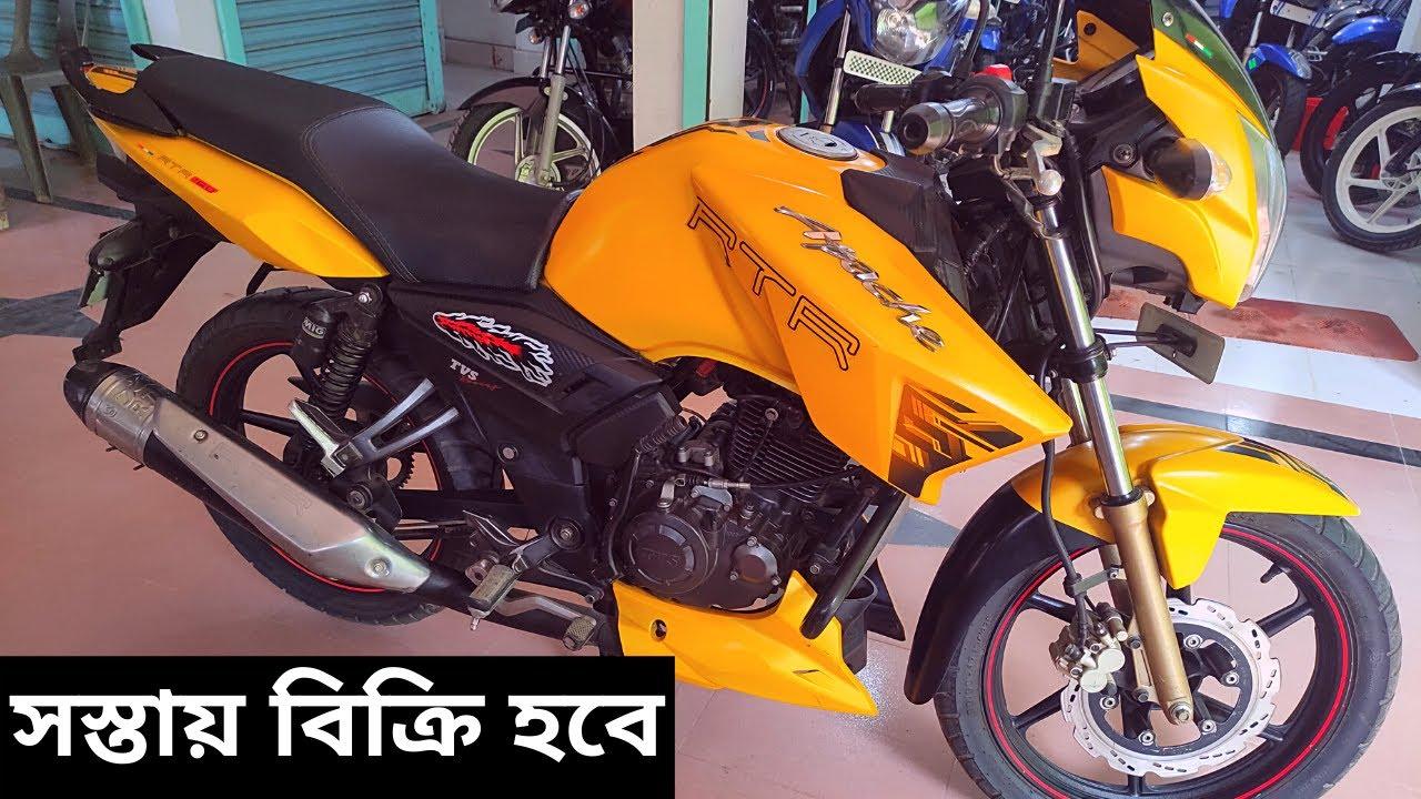 সস্তায় বিক্রি হবে RTR 160cc / second hand RTR bike price bd 2021 / used rtr bike price