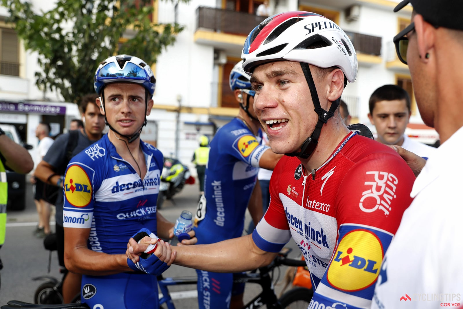 Fabio Jakobsen tells the story of his crash and its aftermath