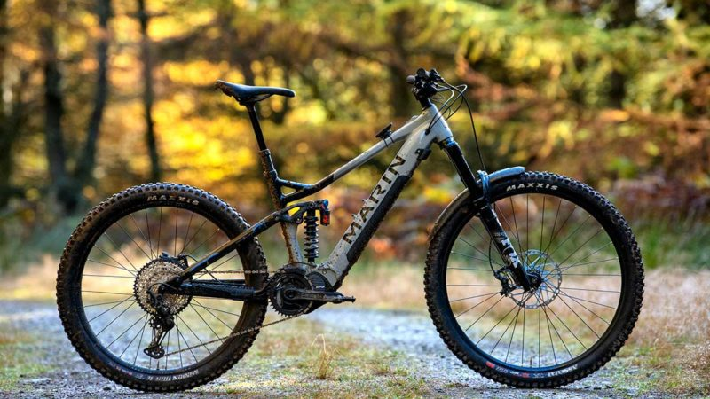 The Marin Alpine Trail E electrifies and mullets a race-proven 150mm enduro bike