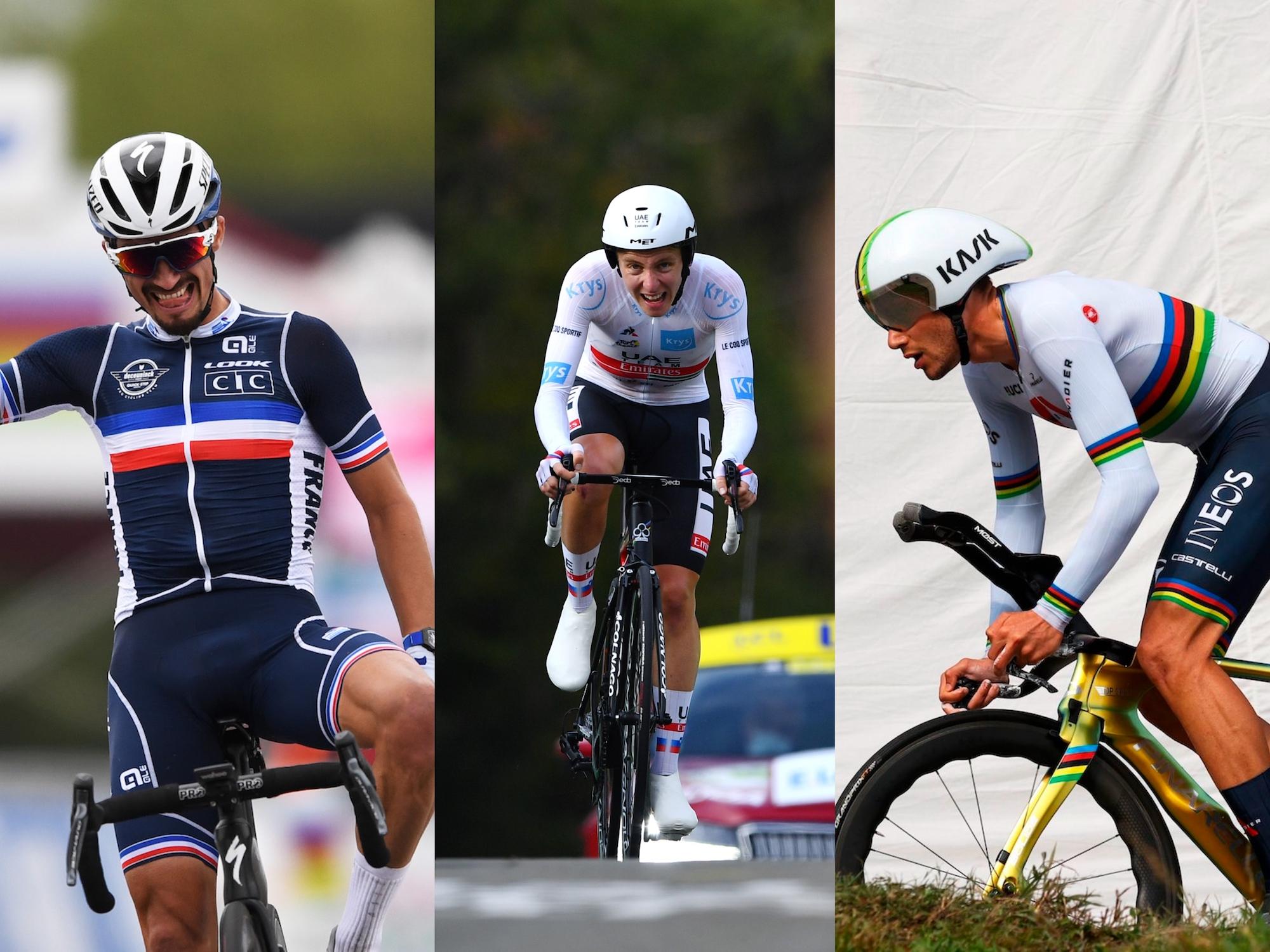 Top-10 performances of the 2020 men's road season